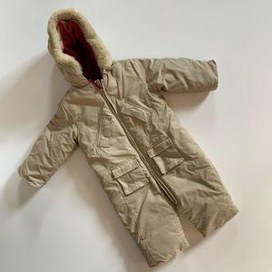 Woolrich Down Snowsuit Baby Onesie Size 6-12 Month